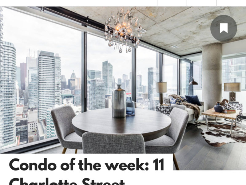 blogTO – Condo of the Week